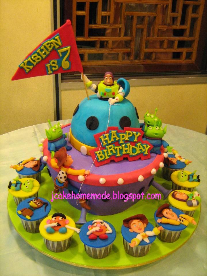 Jcakehomemade Toy Story Theme Birthday Cake