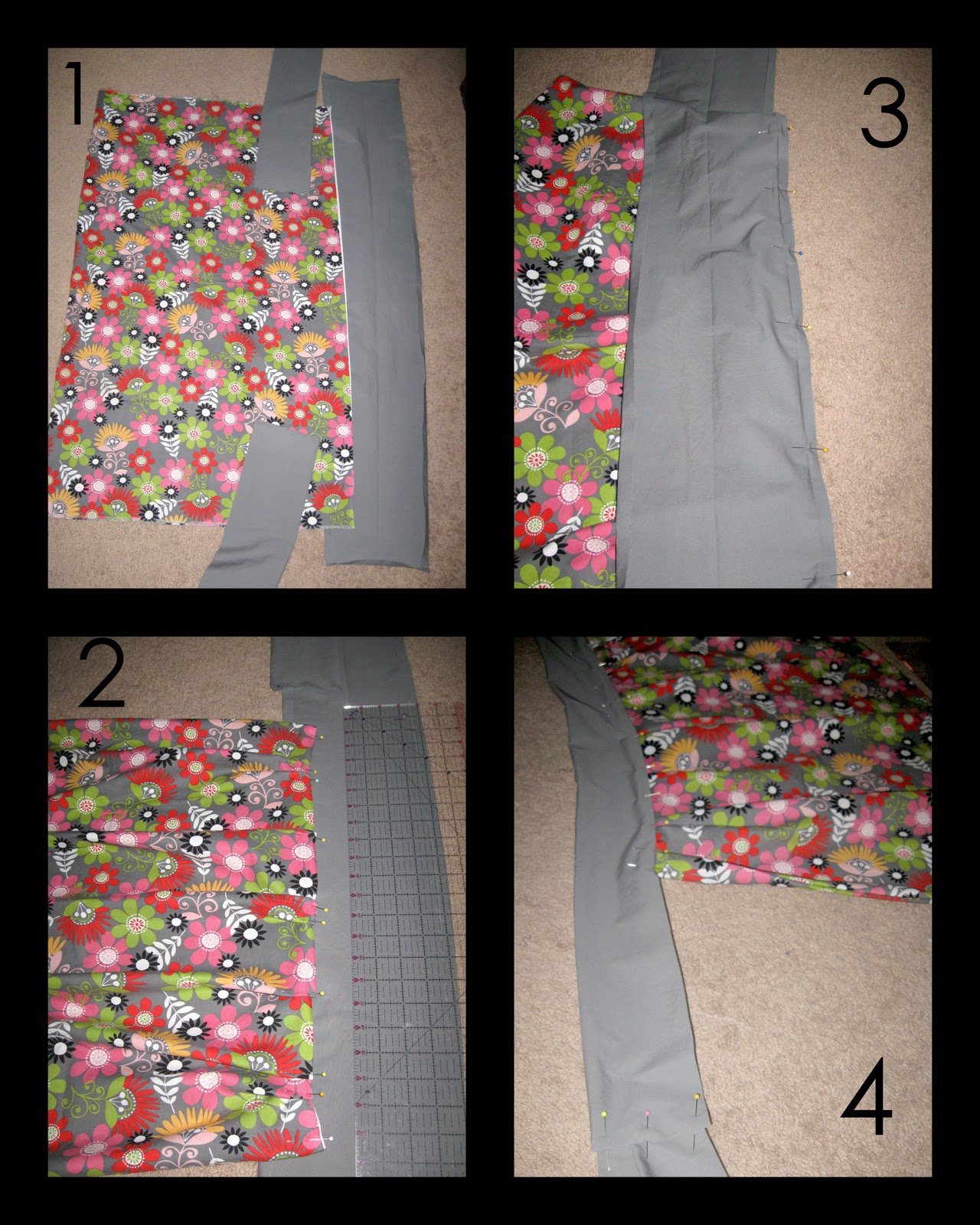 White half apron walmart - Take A Yard Of Fabric And Fold It In Half Right Sides Together Sew Up Short Sides Turn Out Press Cut Three Strips About 45 Wide And 9 5 Inches Long
