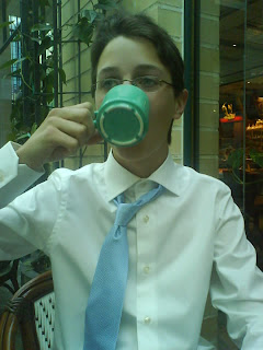 Gymnasiets sista kaffe...