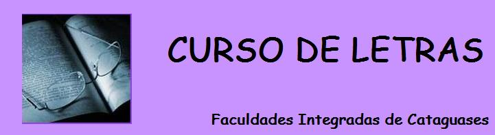 Curso de Letras - Faculdades Integradas de Cataguases