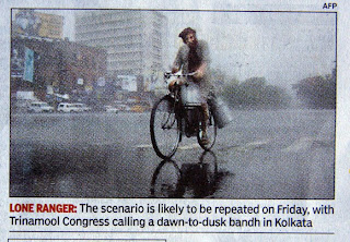 from TOI,  a very wet Kolkata
