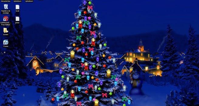 Descargar my 3d christmas tree gratis for Imagenes protectores de pantalla gratis