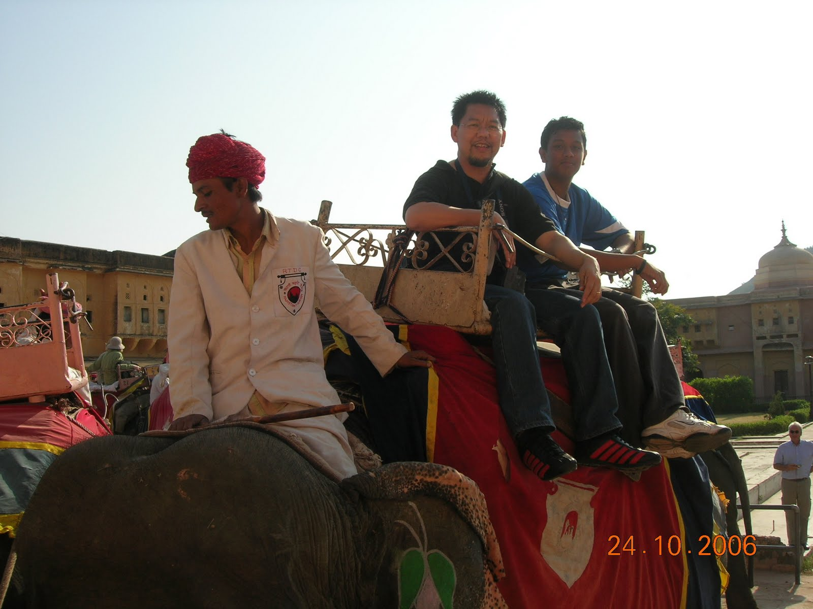 Elephant ride =)