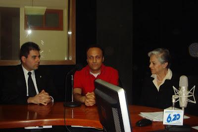 Segunda foto durante la entrevista