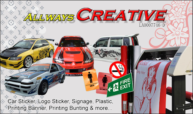 My ALLWAYS CREATIF Car Stickers Car Show And Some Sharing - Car show stickers