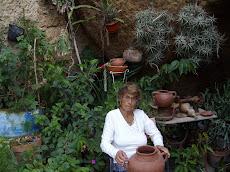 TALLER- CUEVA de la Alfarera MARIA GUERRA en la Atalaya - Santa Brigida.