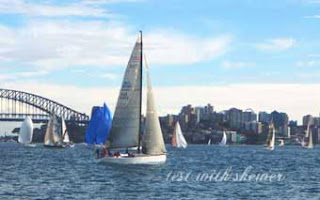 yachts on sydney harbour
