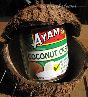 coconut cream in can