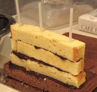 cake scaffolding