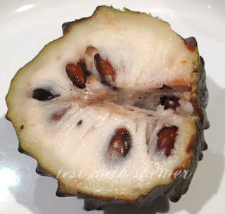 inside custard apple