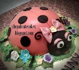 LADYBIRD 3D CAKE