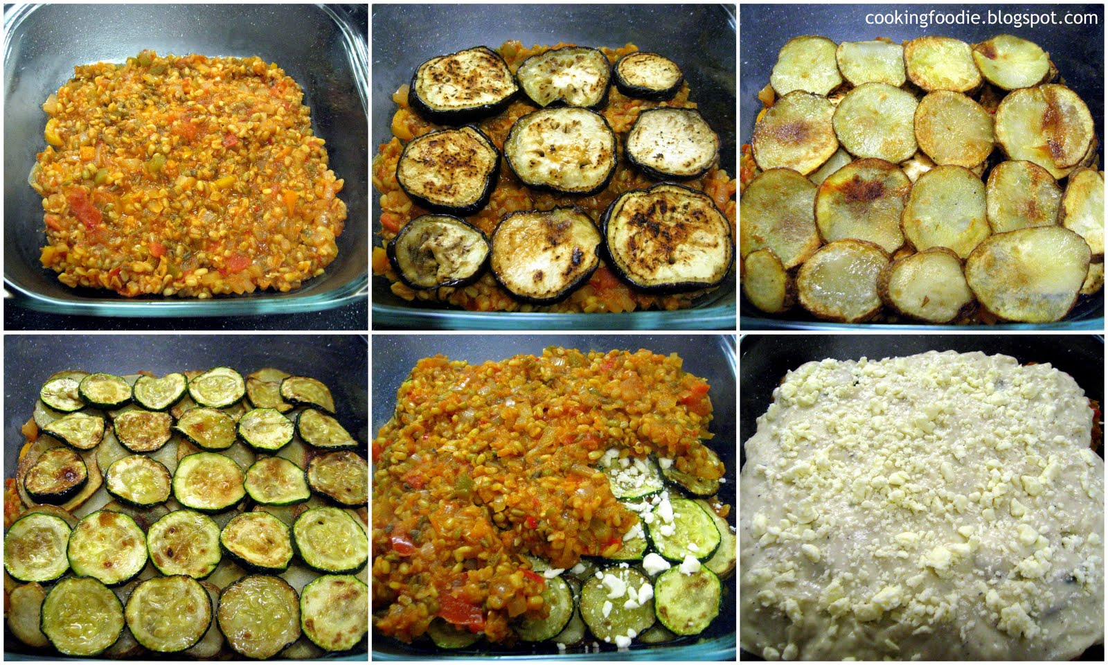 Vegetable Moussaka Recipe — Dishmaps