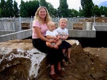 Sandy home construction - 2006