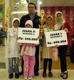 Juara Lomba Cerita Tk. Jawa Timur