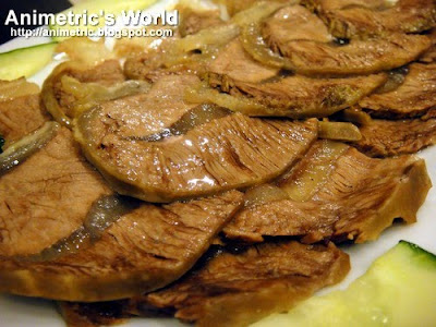Sliced Beef Kenchi at The Cantonese Soup Kitchen