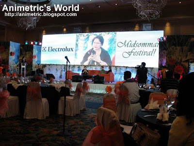 Electrolux Midsommar Festival at EDSA Shangri-la Hotel