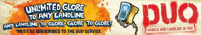 Globe Duo Mobile Landline service