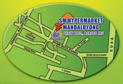 SM Hypermarket Mandaluyong location map