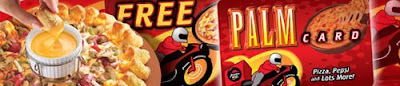 Pizza Hut Palm Card