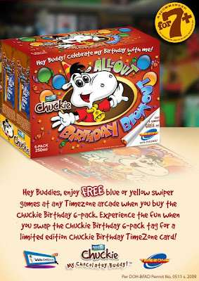 Free Timezone games from Nestle Chuckie!