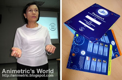 Ms. Cora Sager of Nestle Philippines and the Nestle Wellness Passport