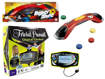 Hasbro's Trivial Pursuit Digital Choice and Electronic Hyperslide from Color Mix Corporation