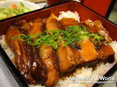 Melt-in-your-mouth Braised Pork at Tokyo Tokyo Metro