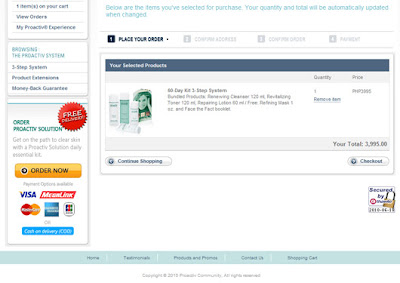 Ordering Proactiv Solution