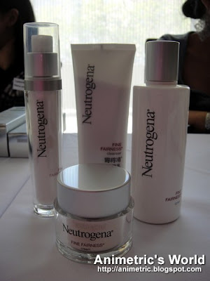 Neutrogena Fine Fairness products