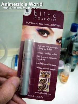 Blinc Mascara sampler