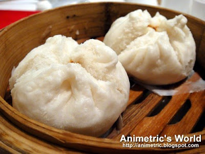 Steamed barbecue minced pork buns at Shang Palace