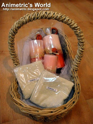 Downy Passion gift basket