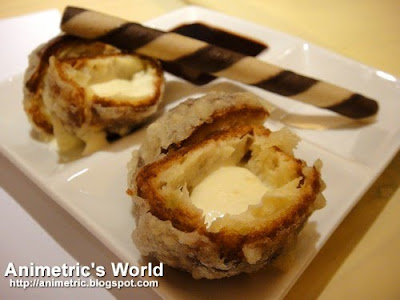 Tempura Ice Cream at Ramen Bar Eastwood