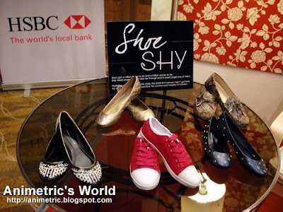 HSBC Charles & Keith Shoe Shy showcase