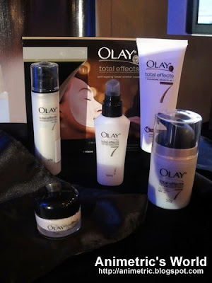 Olay Total Effects skincare line