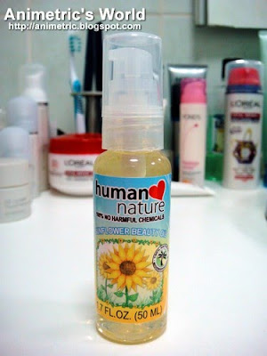 Human Heart Nature Sunflower Beauty Oil