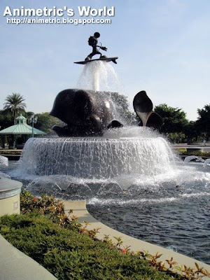 Inspiration Lake at Hong Kong Disneyland