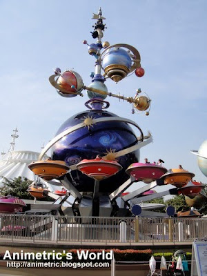 Tomorrowland at Hong Kong Disneyland