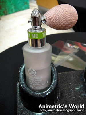 The Sparkler from The Body Shop