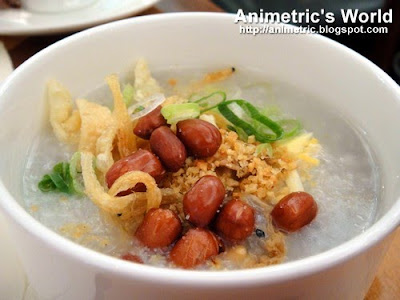 Congee at Enchanted Garden, Hong Kong Disneyland Hotel