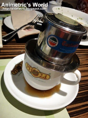 Vietnamese Coffee at Pho 24