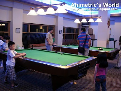 Pool Hall at Timberland Sports and Nature Club
