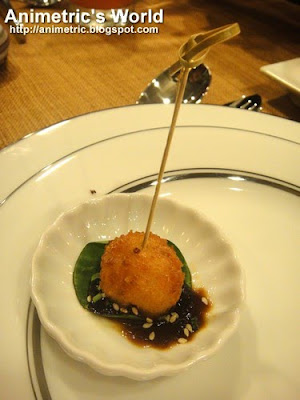 Prawn Cakes at Lola Maria Restaurant