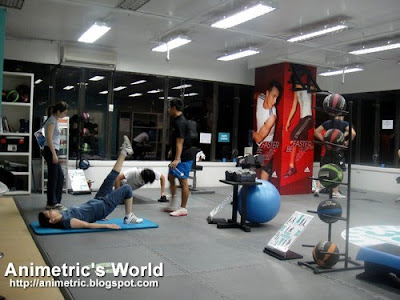 Circuit training at 360 Fitness Club