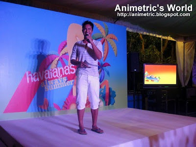 Event host, a VJ from Channel V