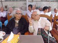 >90th birthday of Thakhin Thein Maung