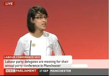 >Waihnin Pwint Thone Speec at UK Labor Party