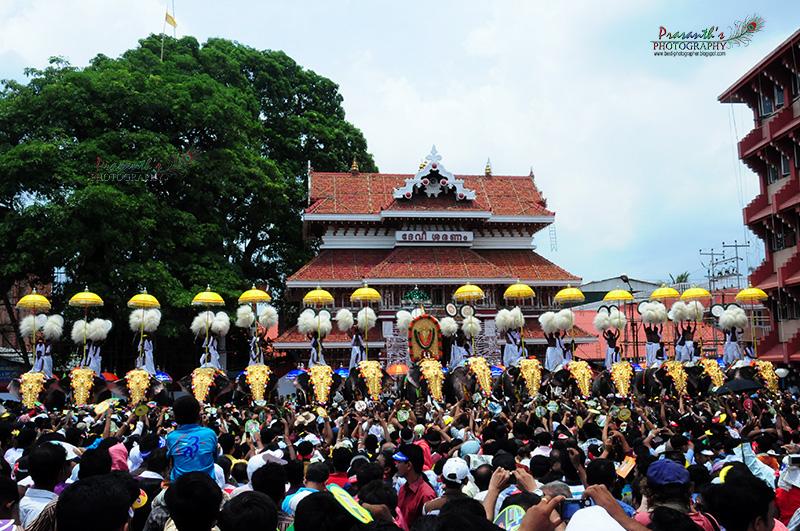 Thrissur Pooram 2010