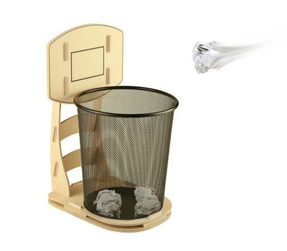 Basketball Waste Basket Trash Can Bin Shooting Hoop Ebay
