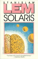 Cover image of the novel titled Solaris by Stanislaw Lem
